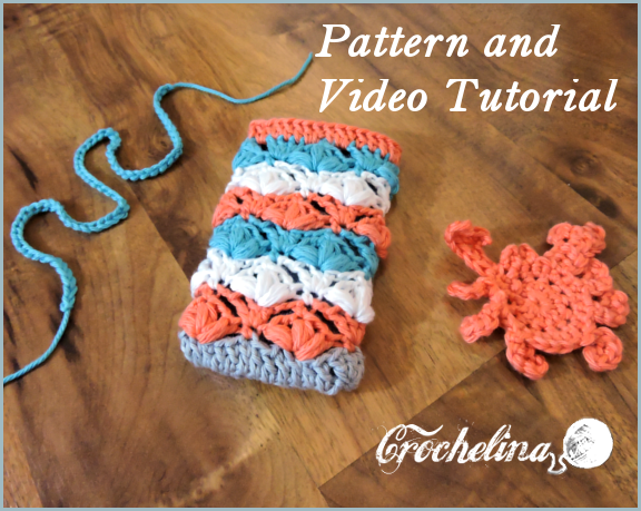 Petal Stitch Phone Cover with Video Tutorial