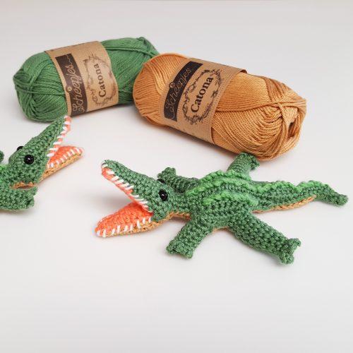 Silas the Crochet Alligator